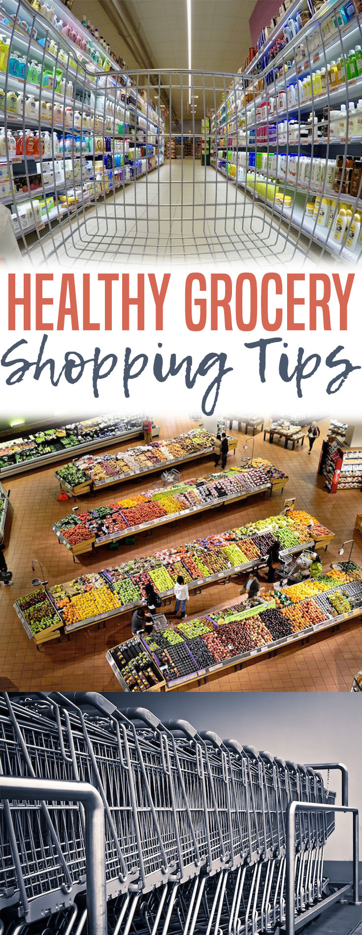 In this blog post we'll be discussing the psychology behind how the grocery store encourages unhealthy eating and some healthy grocery shopping tips.