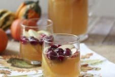 These three healthy fall holiday cocktails are lightened up drinks you won't be able to resist.