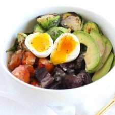 I share a one week high protein paleo meal plan filled with healthy recipes that provide around 1700 calories and 100 grams of protein.