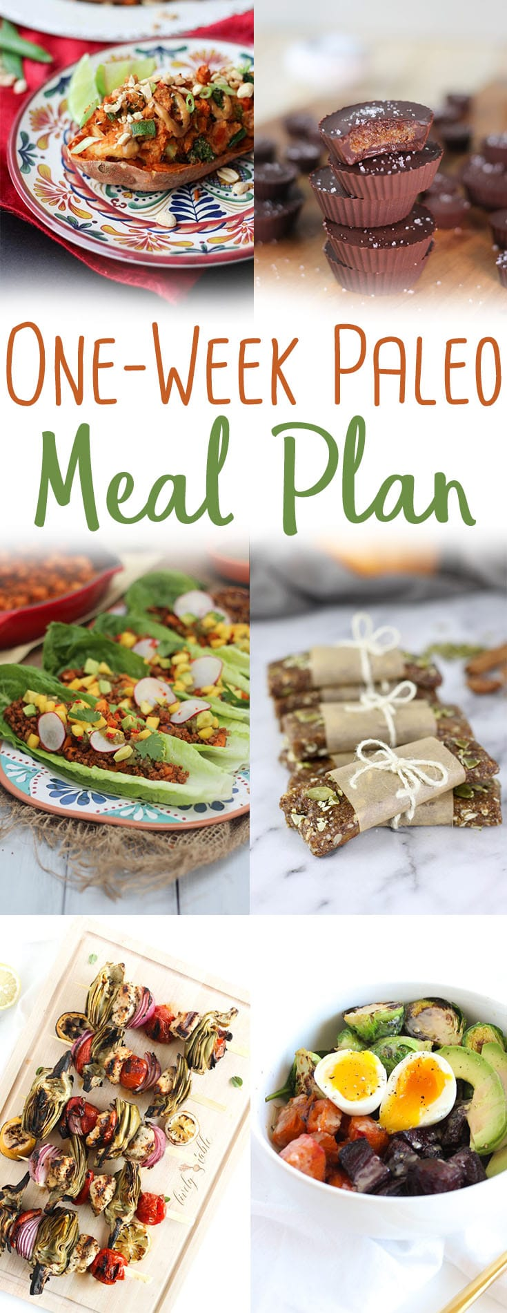 Get your Healthy One Week High Protein Paleo Meal Plan filled with Budget Friendly Easy Recipes that provide around 1700 calories and 100 grams of protein. #highprotein #paleorecipes #mealplan #oneweek #mealplanning #paleodinner #paleobreakfast #paleolunch #healthyrecipes #easyrecipes