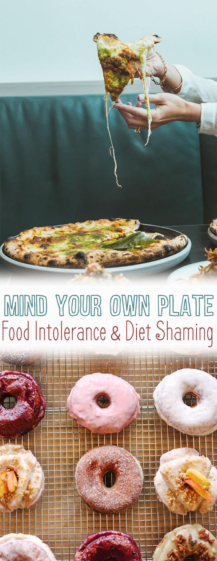 I explain why you should mind your own plate as so many people with specific diets have developed terrible food intolerance of others and diet shaming.