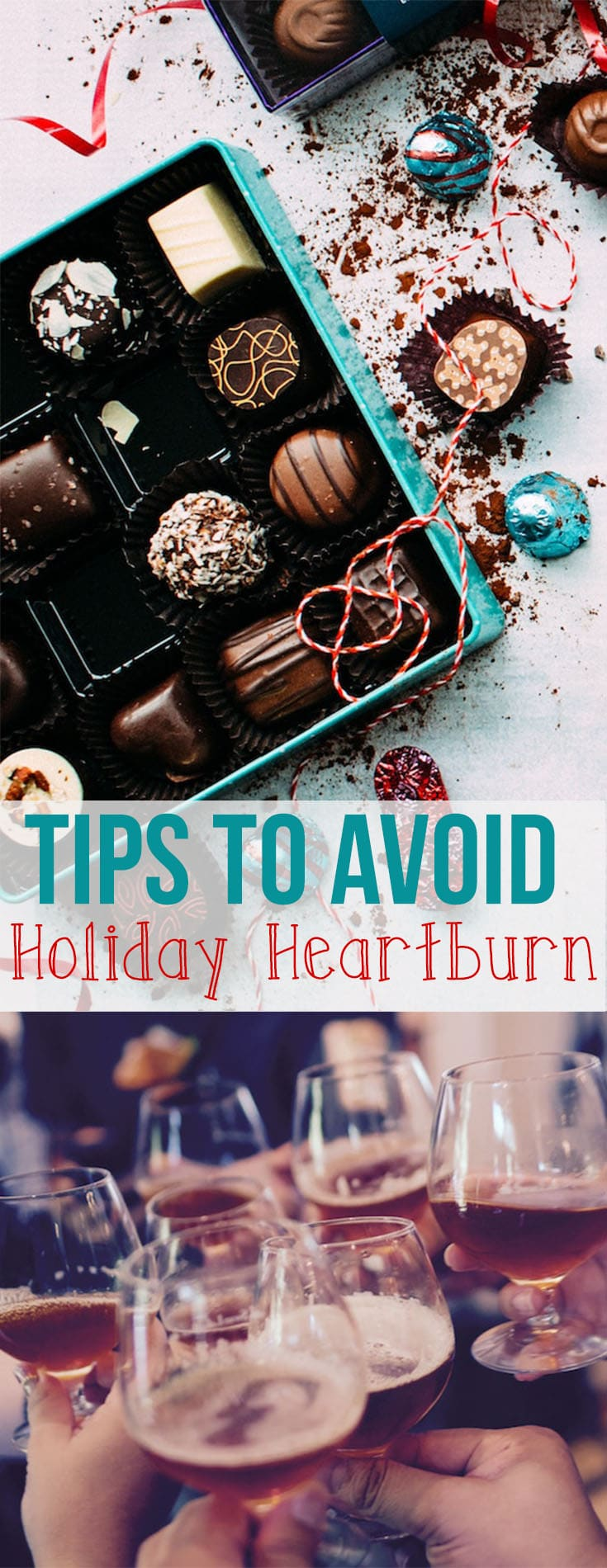I'm sharing my best tips to help you survive the Christmas meal without holiday heartburn and indigestion.