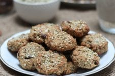 I share my three favourite vegan hemp hearts recipes including a healthy falafel, power cookies, and hemp hearts no-oats porridge!