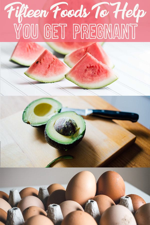 pinterest image of eggs, avocado, and watermelon with text overlay