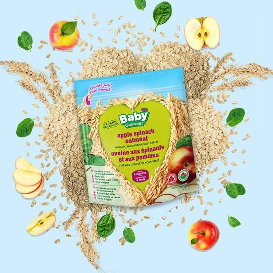 baby gourmet food packet