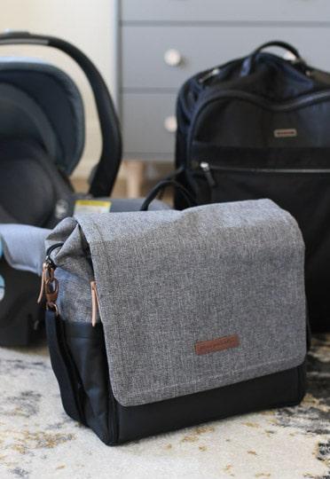 Image of a diaper bag.
