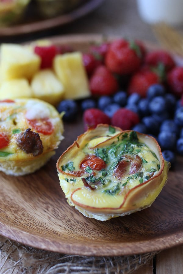 These Keto Egg Cups are the perfect gluten free breakfast meal prep staple for the week, served in 5 different ways to keep mornings interesting!