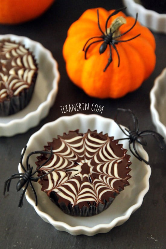 Get your candy fix with a roundup of these easy healthy halloween dessert recipes! From vegan to gluten free, there's a healthy treat for anyone looking to satisfy their sweet tooth craving!