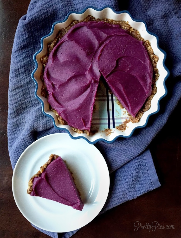 Purple pie.