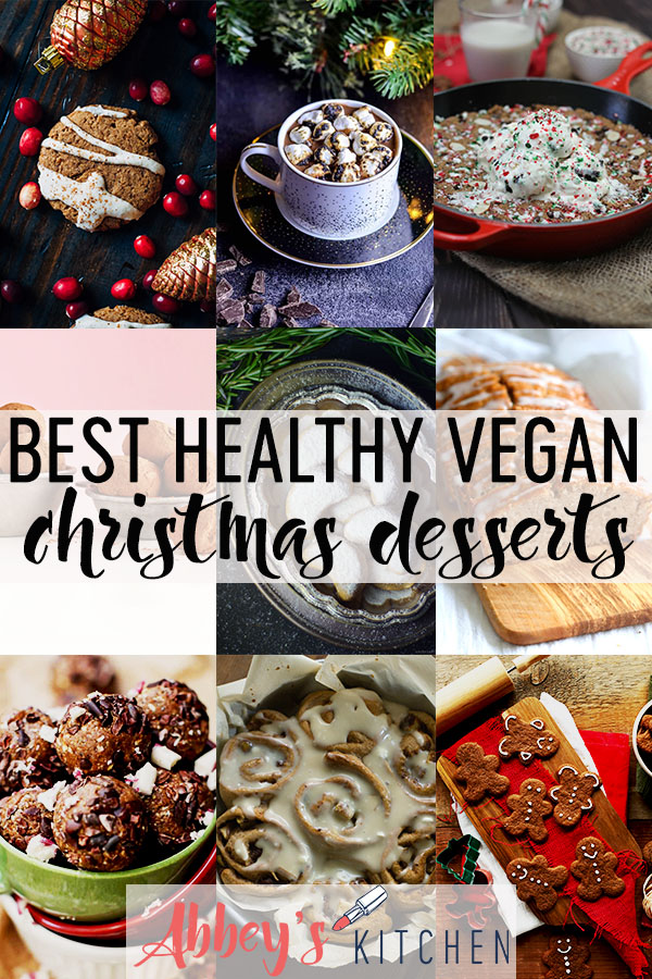 20 Healthy Vegan Christmas Desserts Abbey S Kitchen