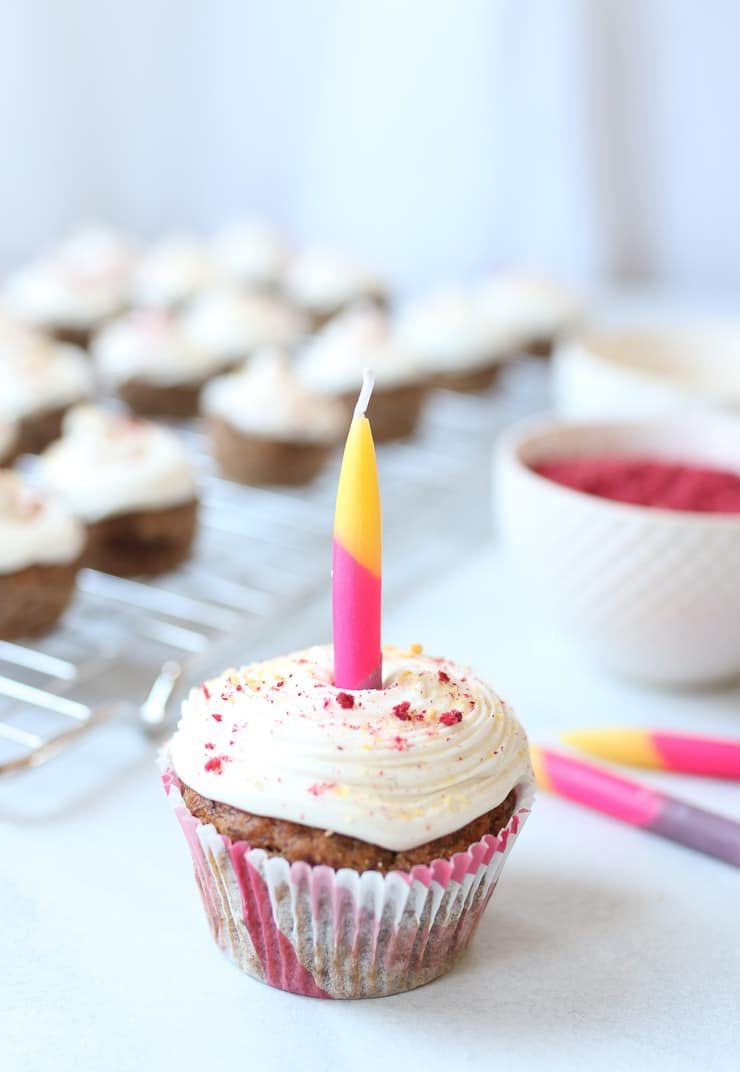 Magnificent Vegan 1St Birthday Cupcake For Baby No Sugar Added Nut Free Personalised Birthday Cards Veneteletsinfo