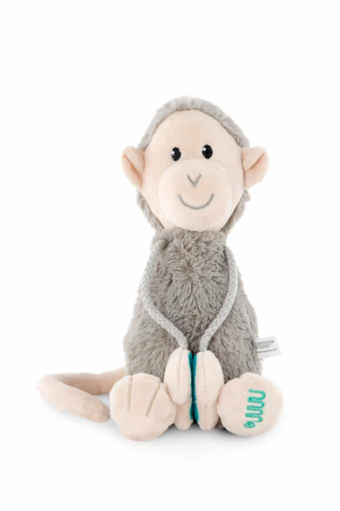 Monkey plush toy.