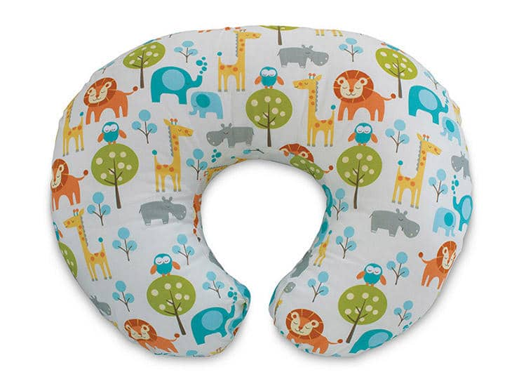 Image of a breastfeeding pillow.