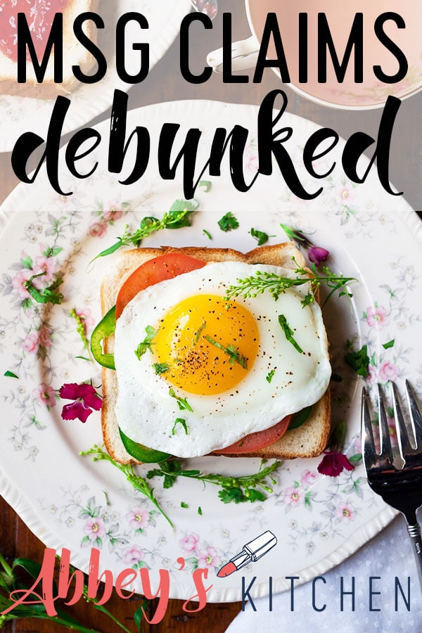 pinterest image of Toast with a fried egg on top with text overlay.