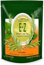 Bag of E-Z tea.