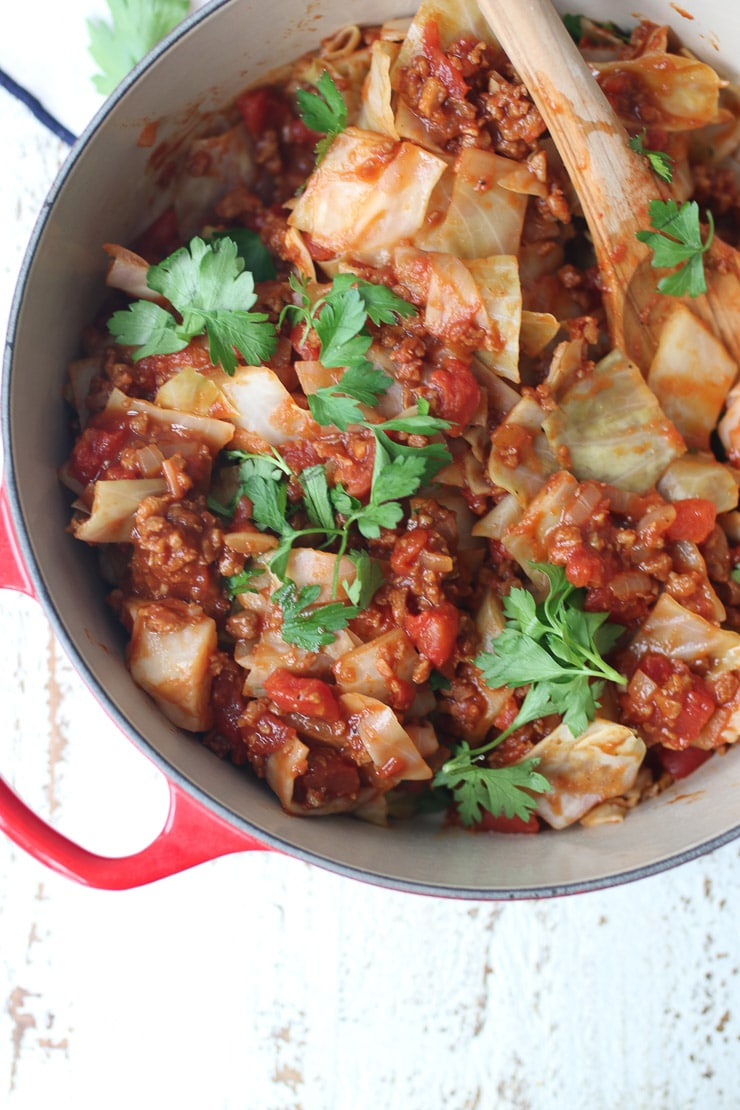 Cabbage Roll In A Bowl Vegan Gluten Free