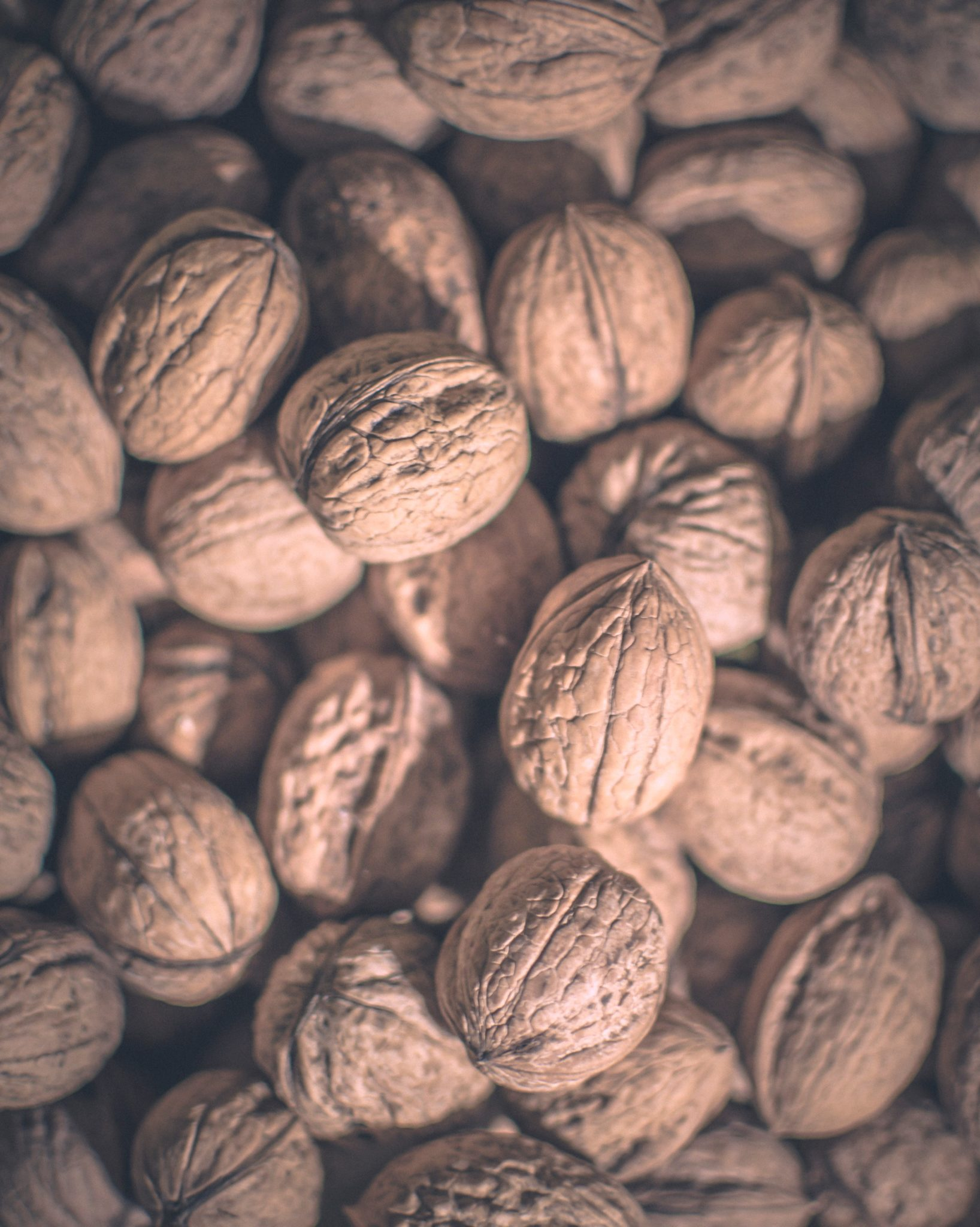 image of shelled walnuts to represent foods that help with pregnancy