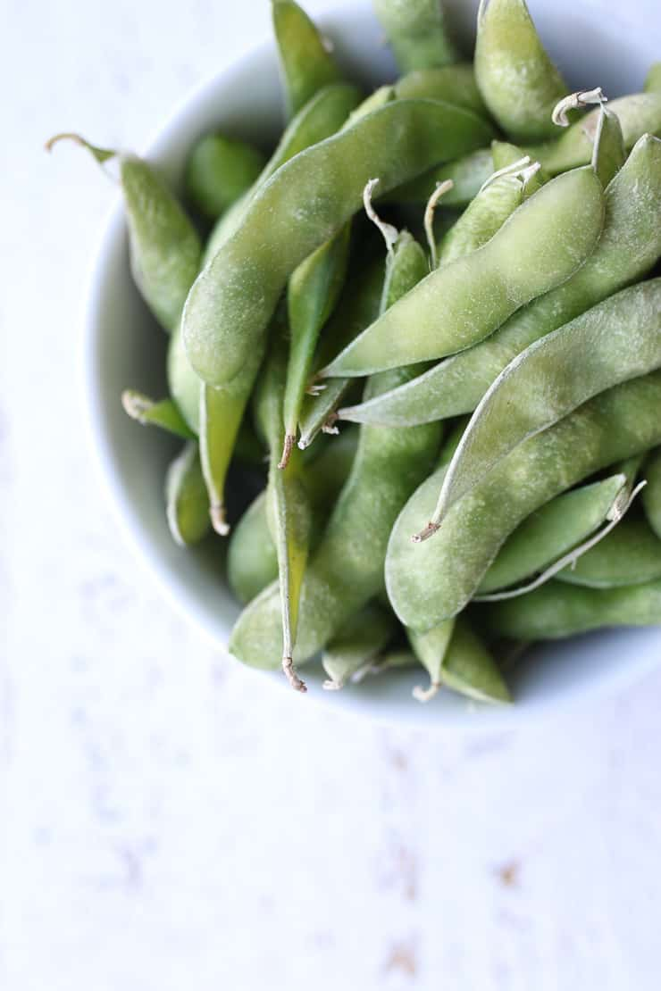 edamame beans as a healthy protein rich snack for blood sugar management