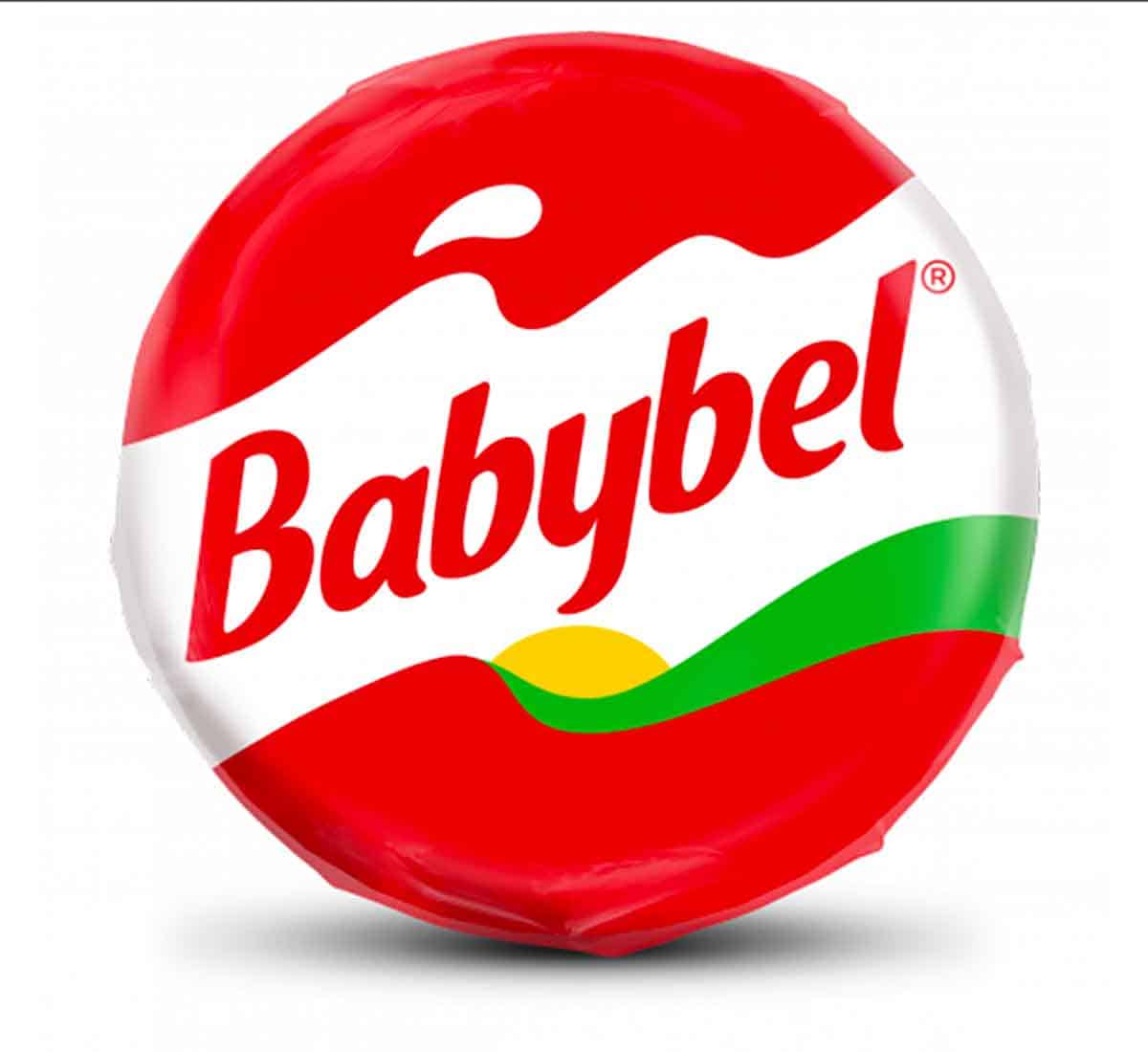 A whole piece of babybel cheese.