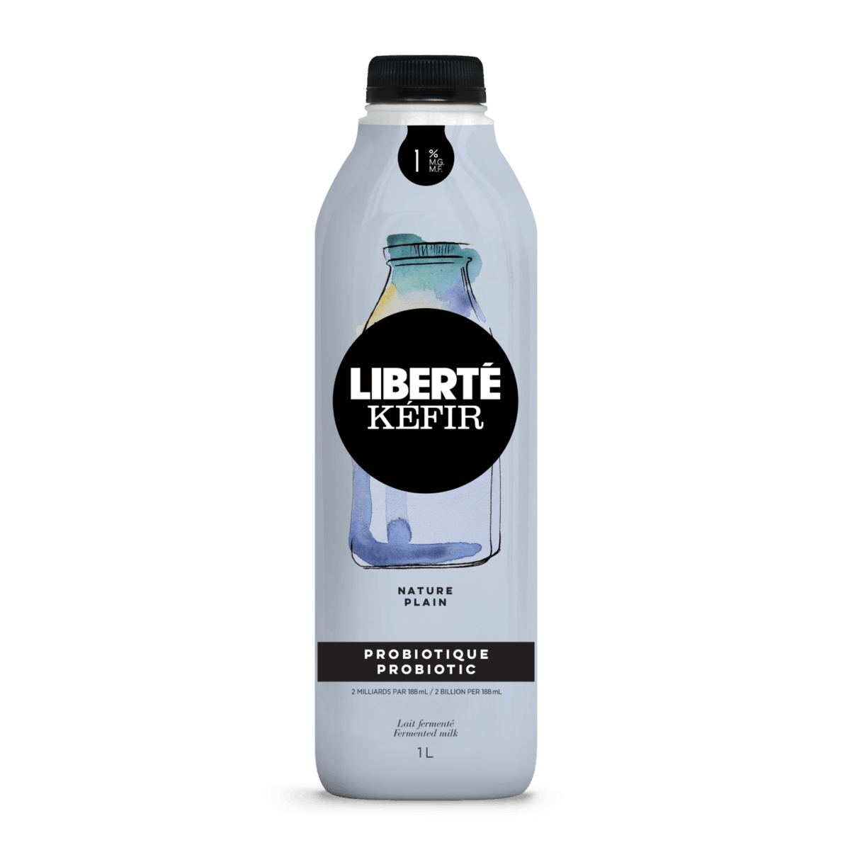 A container of Liberté Kefir.