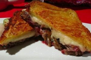 Super Decadent Sexy Duck Grilled Cheese