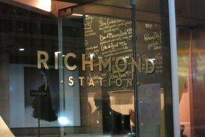 Richmond Station Toronto Restaurant Review