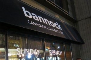 Bannock Toronto Restaurant Review (#2)