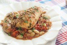 cassoulet, chicken cassoulet, healthy cassoulet, high fibre cassoulet